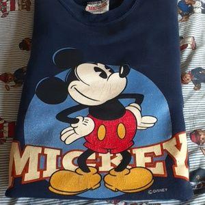 Vintage Mickey Mousey Crewneck XL